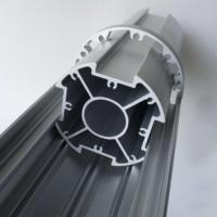 Aluminium casing - Soluxio solar panel circular aluminium exterior