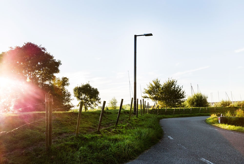 Soluxio duurzame solar straatverlichting