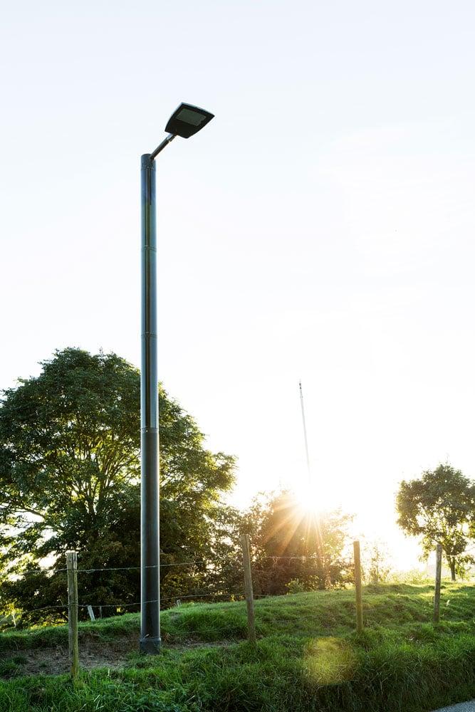 Soluxio solar verlichting dijk haven