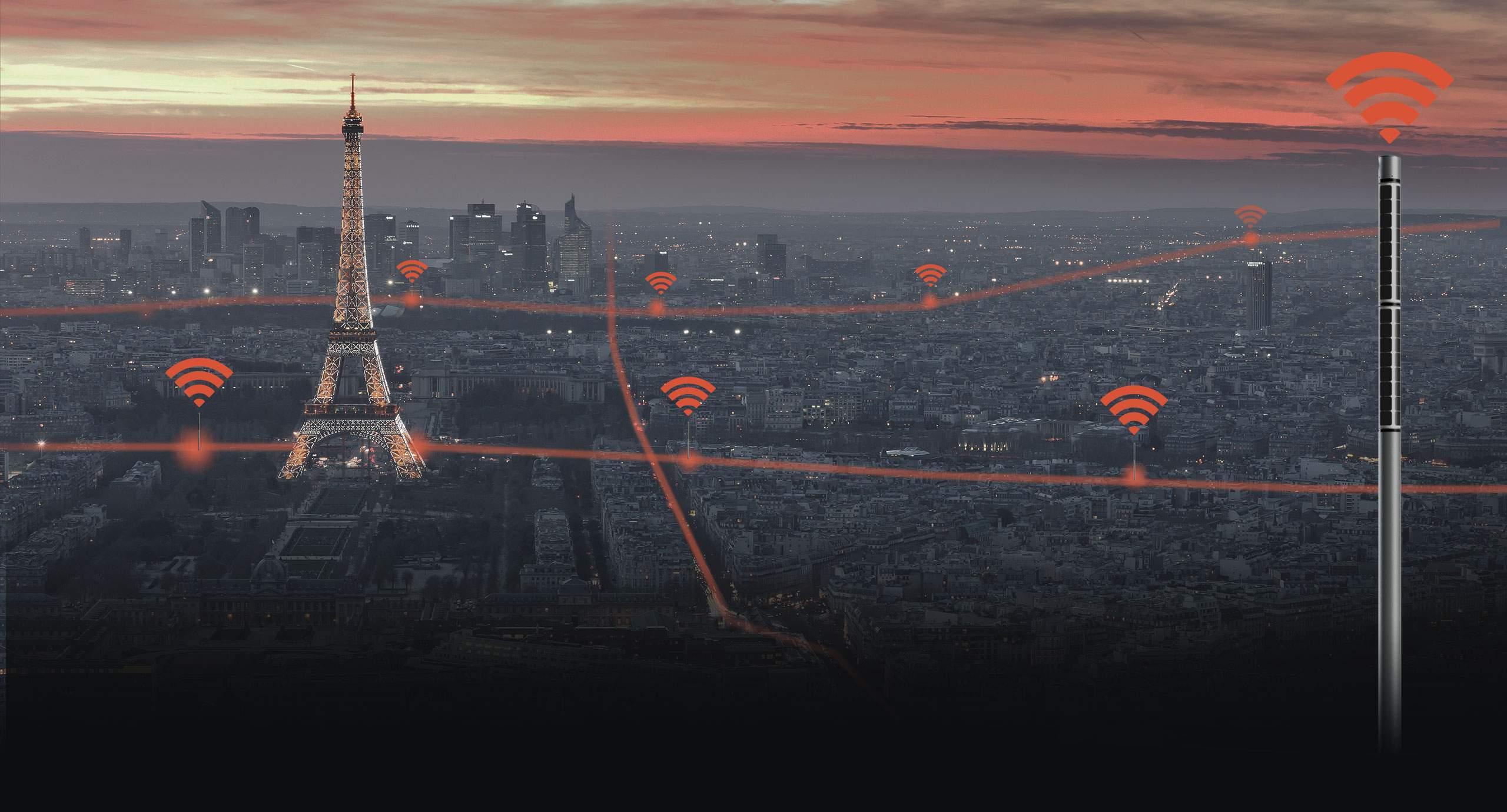 FlexSol Soluxio Connect red móvil solar 4G y punto de acceso WiFi